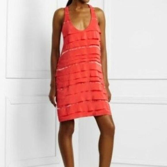 BCBGMaxAzria Dresses & Skirts - BCBGMaxAzria Beaded Tiered Cocktail Dress